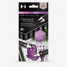 Spectrum Noir : Classique Marker : Purples Set of 6