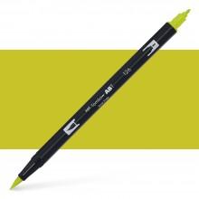 Tombow : Dual Tip Blendable Brush Pen : Light Olive