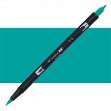 Tombow : Dual Tip Blendable Brush Pen : Sea Blue