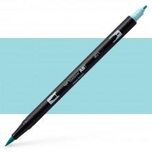 Tombow : Dual Tip Blendable Brush Pen : Aqua