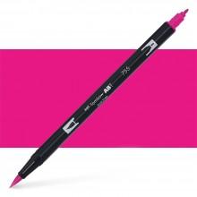 Tombow : Dual Tip Blendable Brush Pen : Rubine Red