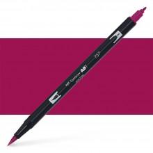 Tombow : Dual Tip Blendable Brush Pen : Port Red