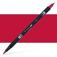 Tombow : Dual Tip Blendable Brush Pen : Cherry