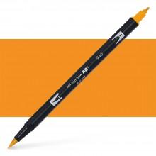 Tombow : Dual Tip Blendable Brush Pen : Gold Ochre