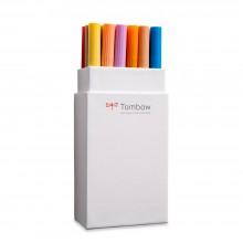 Tombow : Art Dual Blendable Brush Pens : Set of 18 : Secondary Colours