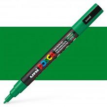 Uni : Posca Marker : PC-3M : Fine Bullet Tip : 0.9 - 1.3mm : Green