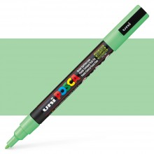 Uni : Posca Marker : PC-3M : Fine Bullet Tip : 0.9 - 1.3mm : Light Green