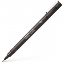 Uni : Pin Waterproof Lightfast Drawing Pen : Dark Grey : 0.5mm