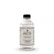Chelsea Classical Studio : Oil Of Spike Lavender Solvent : 4oz (118ml) : Ship By Road Only