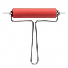 CWR : Rubber Brayer 10cm wide 21mm Diameter Roller