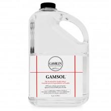 Gamblin : Gamsol Odourless Mineral Spirit : 3780ml