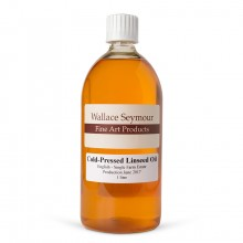 Wallace Seymour : Linseed Oil Cold Pressed : 1000ml