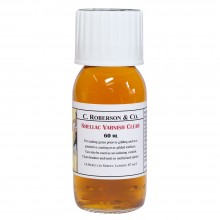 Roberson : Shellac : Dries Clear : 60ml : Ship By Road Only