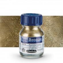Schmincke : Aqua Bronze Powder : 20ml : Rich Pale Gold