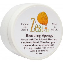 Zest-It : Blending Sponge to Moisten Stumps Tortillions & Shapers