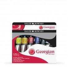 Daler Rowney : Georgian Oil : 38ml : Mixing Set of 6