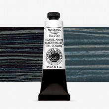 Daniel Smith : Water Soluble Oil Paint : 37ml : Ivory Black