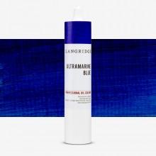 Langridge : Oil Paint : 300ml : Ultramarine Blue