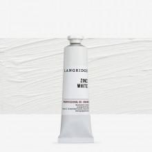 Langridge : Oil Paint : 40ml : Zinc White
