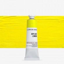 Langridge : Oil Paint : 40ml : Arylide Lemon