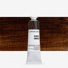 Langridge : Oil Paint : 40ml : Burnt Umber