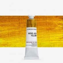 Langridge : Oil Paint : 40ml : Nickel Azo Yellow