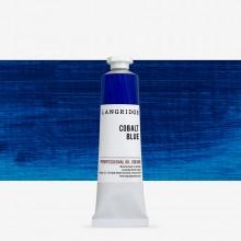 Langridge : Oil Paint : 40ml : Cobalt Blue