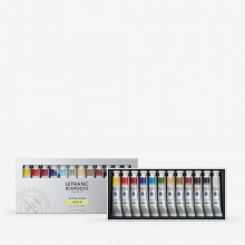 Lefranc & Bourgeois : Extra Fine Oil Paint : 20ml : Set of 12