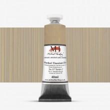 Michael Harding : Oil Paint : 40ml : Unbleached Titanium