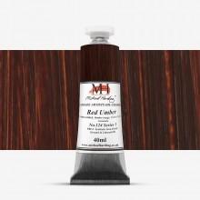 Michael Harding : Oil Paint : 40ml : Red Umber