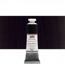 Michael Harding : Oil Paint : 40ml : Lamp Black