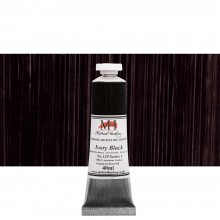 Michael Harding : Oil Paint : 40ml : Ivory Black