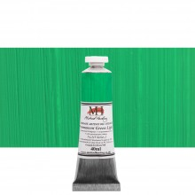 Michael Harding : Oil Paint : 40ml : Permanent Green Light