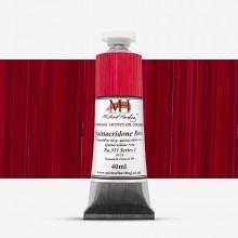 Michael Harding : Oil Paint : 40ml : Quinacridone Rose Organic