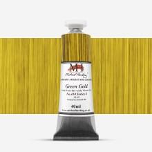Michael Harding : Oil Paint : 40 ml : Green Gold