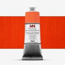 Michael Harding : Oil Paint : 60ml : Permanent Orange