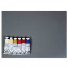 Michael Harding : Modern Master Oil Paint Set 6x40ml and New Wave Grey Posh Palette : 30x40cm