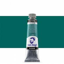 Royal Talens : Van Gogh Oil Paint : 40ml : Phthalo Turquoise Blue S2