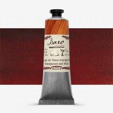 Isaro : Oil Paint : 38ml : Transparent Mars Red