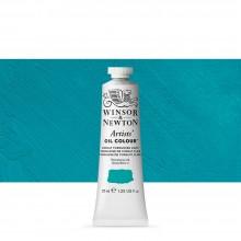 Winsor & Newton : Artists' : Oil Paint : 37ml : Cobalt Turquoise Light