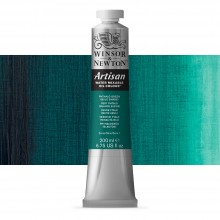 Winsor & Newton : Artisan : Water Mixable Oil Paint : 200ml : Phthalo Green (Blue shade)