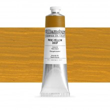 Williamsburg : Oil Paint : 150ml : Mars Yellow Deep