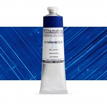Williamsburg : Oil Paint : 150ml : Safflower Ultramarine Blue