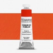 Williamsburg : Oil Paint : 37ml Cadmium Red Vermilion