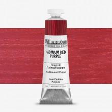 Williamsburg : Oil Paint : 37ml Cadmium Red Purple