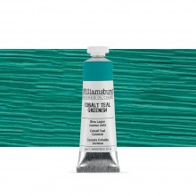 Williamsburg : Oil Paint : 37ml Cobalt Teal Greenish