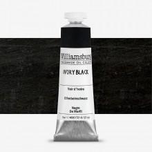 Williamsburg : Oil Paint : 37ml Ivory Black