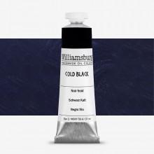 Williamsburg : Oil Paint : 37ml Cold Black
