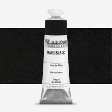 Williamsburg : Oil Paint : 37ml Mars Black