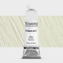 Williamsburg : Oil Paint : 37ml : Safflower Titanium White